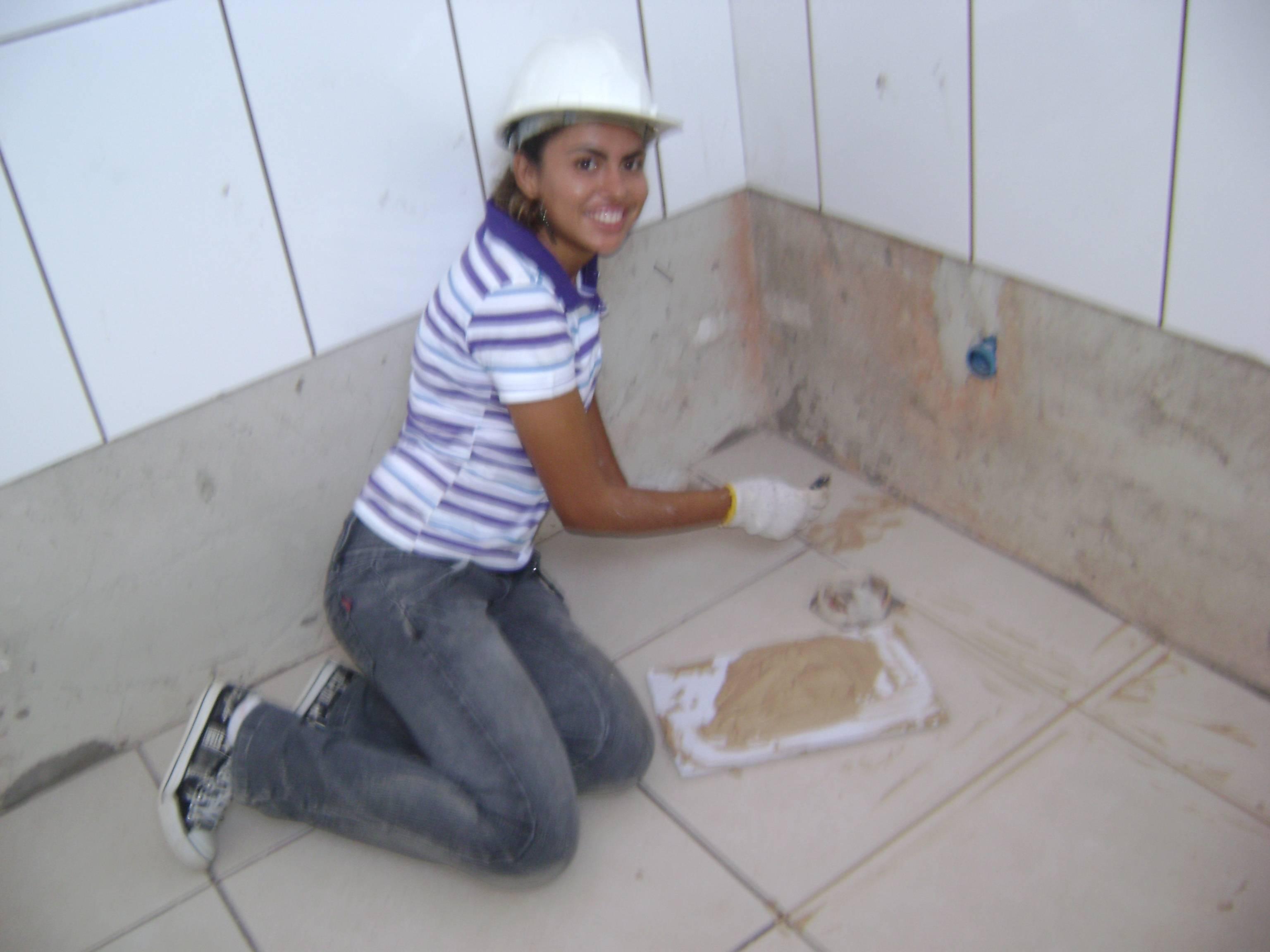 Construção Rápida Itapira Alguns dizem que nossas vidas são  #4B5F80 3072x2304 Banheiro Branco Com Rejunte Azul