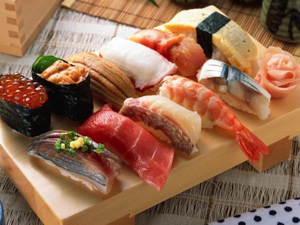 ordering-sushi